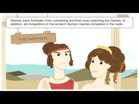 The Ancient Olympic Games - YouTube