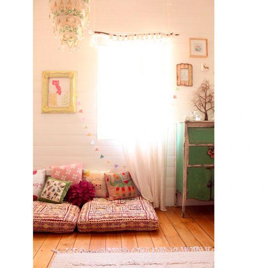 FOTO'S: gezellige leeshoekjes om bij weg te dromen - ... (7)