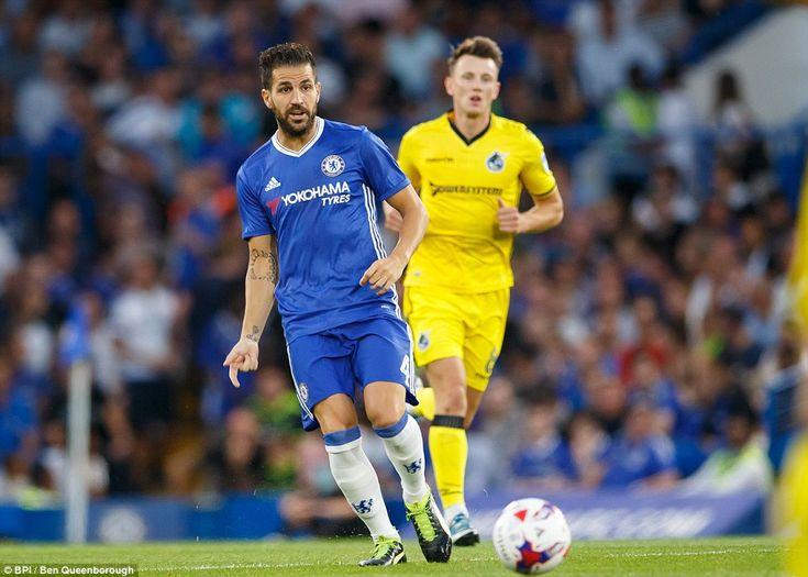 Cesc Fàbregas: Chelsea 3-2 Bristol Rovers, 23 Aug 16