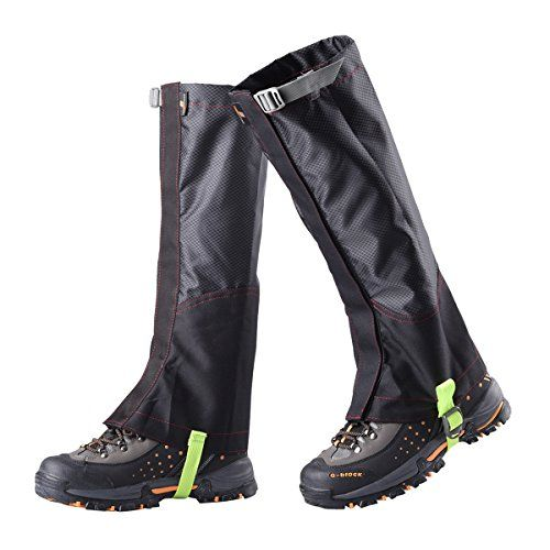 PAMASE Waterproof Hiking Gaiters for Men and Women, High Leg Gaiters for Snow Hunting - Black - L, Large   http://huntinggearsuperstore.com/product/pamase-waterproof-hiking-gaiters-for-men-and-women-high-leg-gaiters-for-snow-hunting/?attribute_pa_color=black-l&attribute_pa_size=large