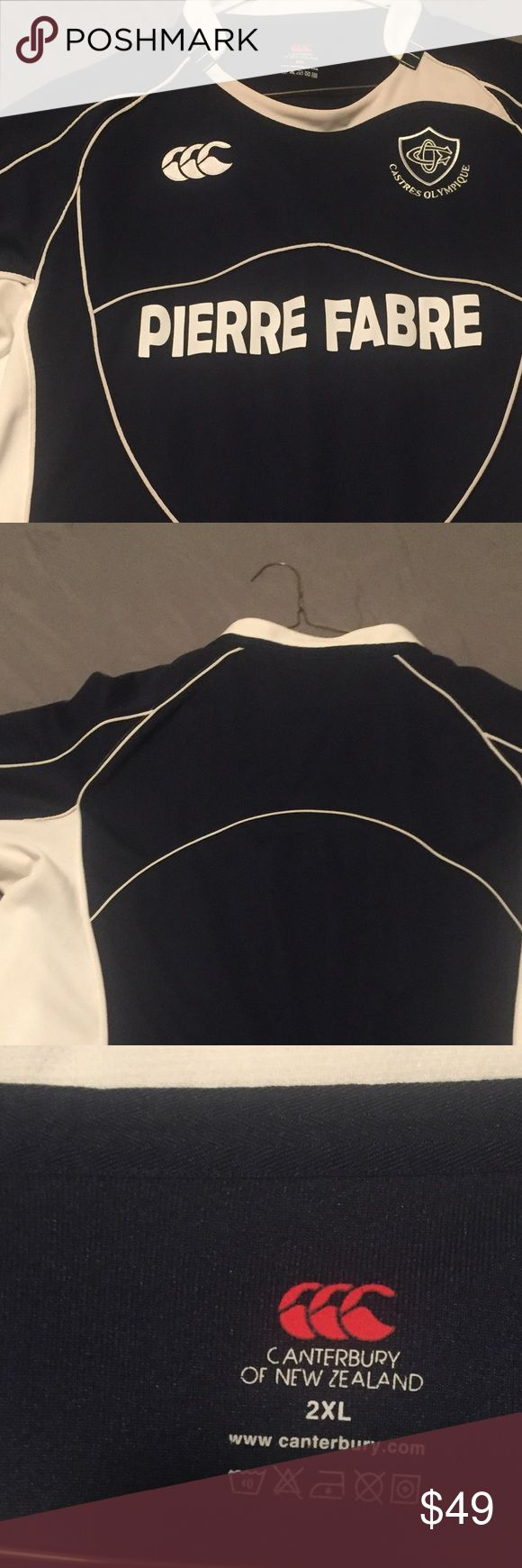 French Rugby Jersey Canterbury made Rugby Jersey for the Castres Olympique Team in The French Rugby Union Canterbury Other