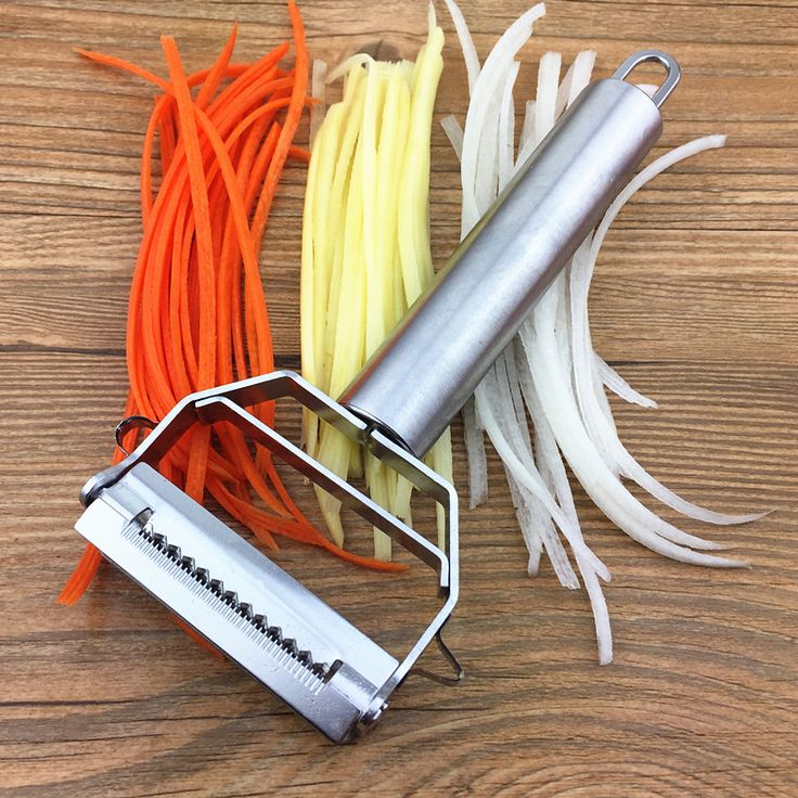 Kitchen Accessories Cooking Tools Multifunction Stainless Steel Julienne Peeler Vegetable Peeler Double Planing Grater-in Peelers & Zesters from Home & Garden on Aliexpress.com | Alibaba Group
