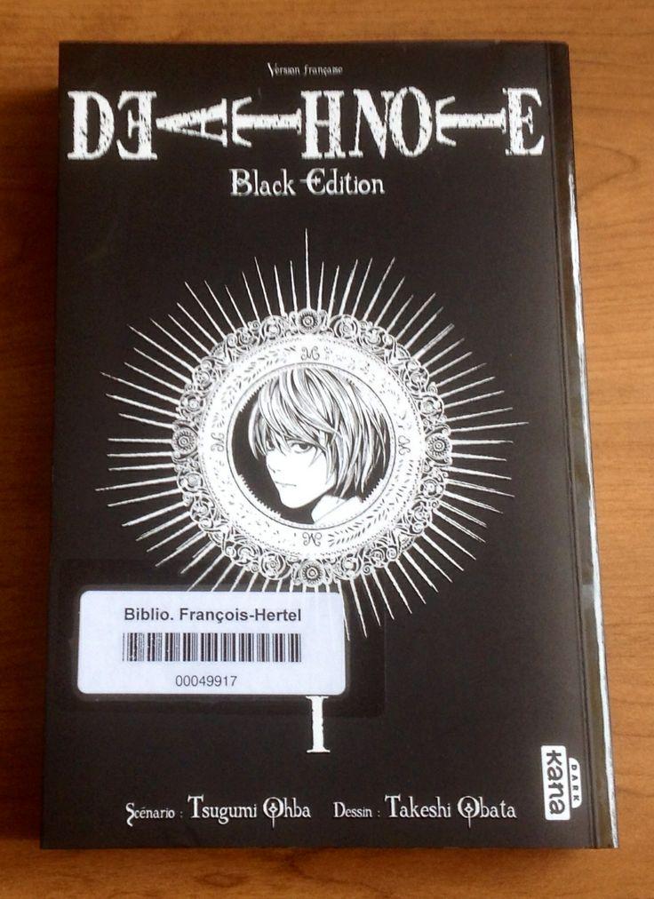 Death Note, black edition, 1
