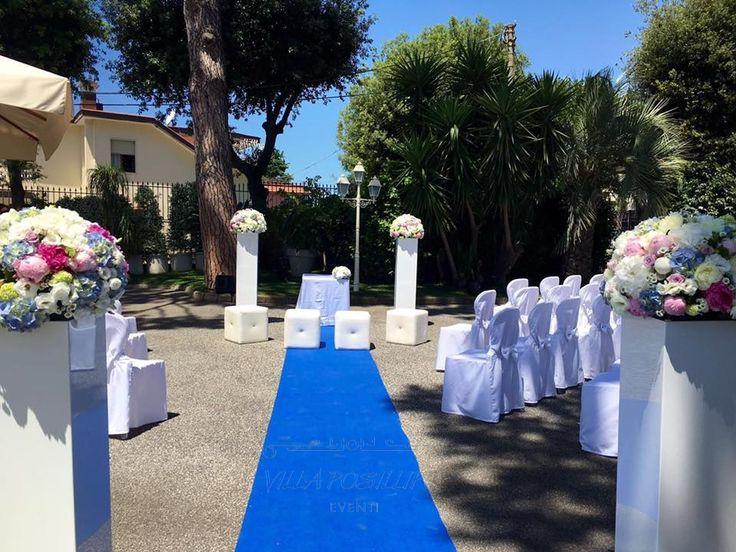 Rito simbolico del matrimonio in Villa. Sposarsi a Villa Posillipo