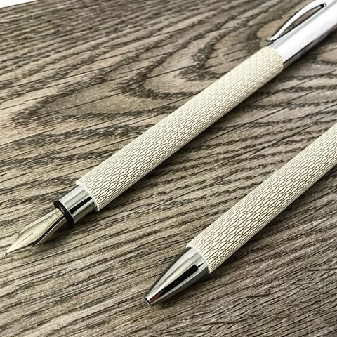 Faber-Castell Ambition OpArt White Sand is a great looking new color.