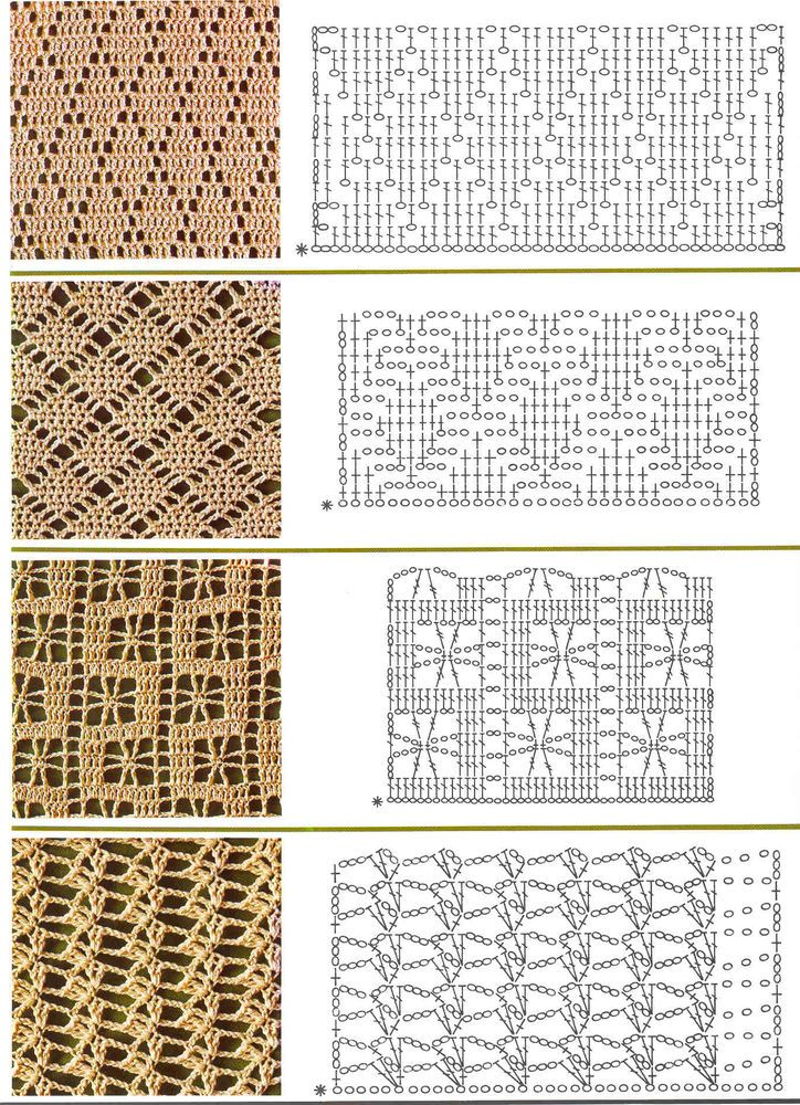 Цветами, вязаные картинки крючком схемы