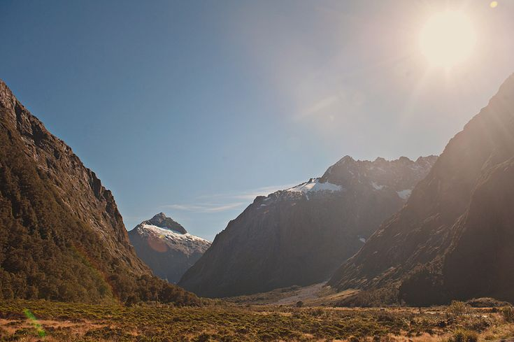 South island of new Zealand, around the Milford Sound area