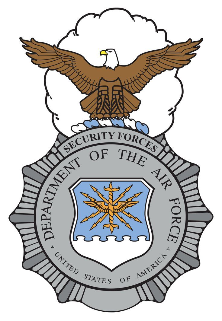 Air Force Occupational And Aeronautical Badges Security Police - Air-force-occupational-badges