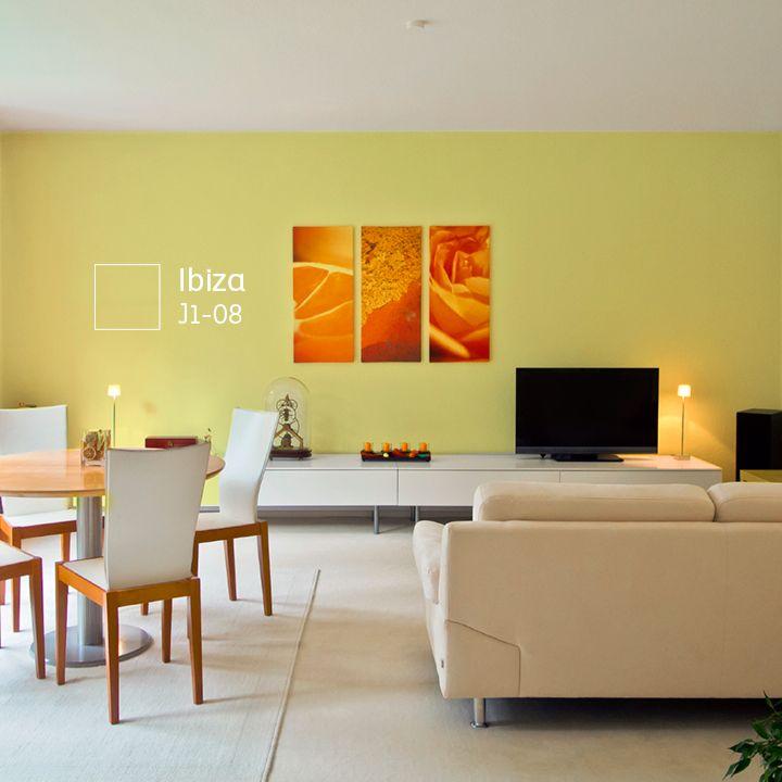 Las 25 mejores ideas sobre paredes de tono amarillo en for Colores de paredes interiores