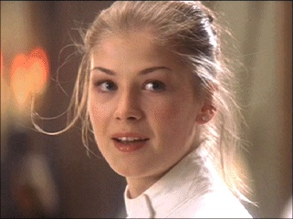 ROSAMUND PIKE as Miranda Frost in Tomorrow Never Dies