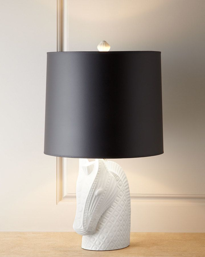 Jonathan Adler Horse Head Lamp Bunk House Pinterest