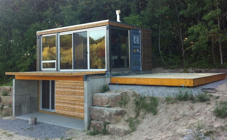 Meka world tiny container home tiny homes pinterest - Shipping container homes canada ...