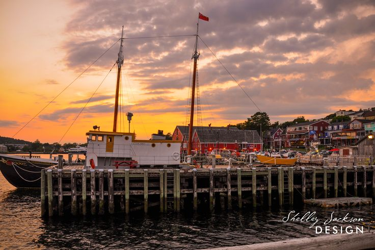 Sunset - Lunenburg, Nova Scotia