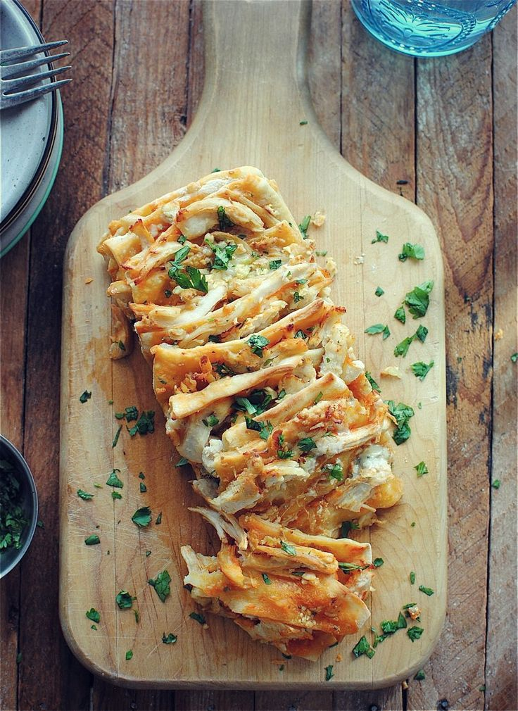 buffalo chicken pull apart bread!! OMG! If I continue with this obsession