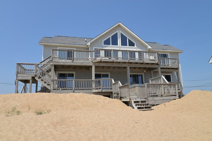 A perfect Outer Banks, NC 5-bedroom House rental in Kitty Hawk located Oceanfront.