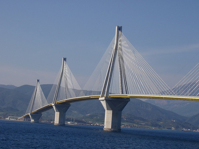 TRAVEL'IN GREECE | Rio-Antirio bridge, #travelingreece