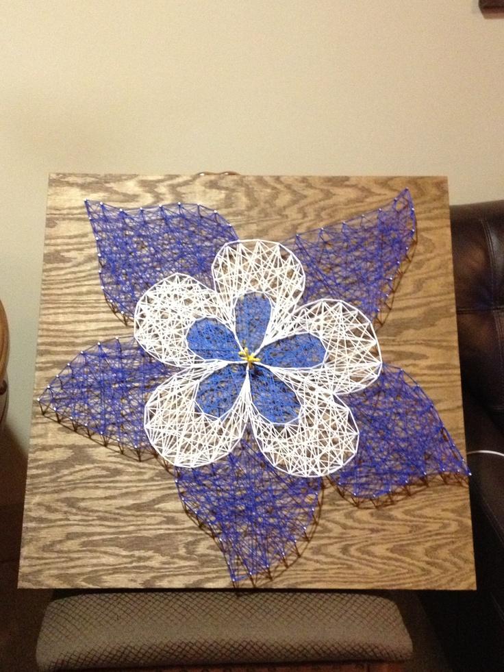 Columbine string art :)