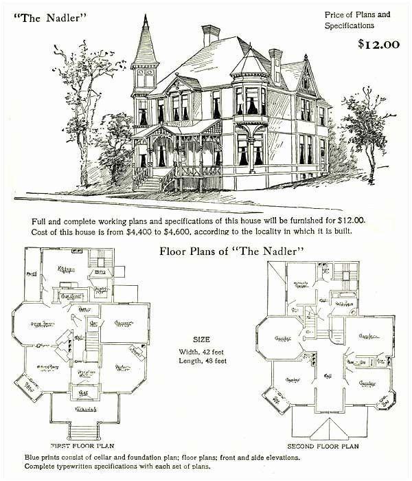 Fairy House Plans In 2020 Victorian House Plans House Plans Vintage House Plans