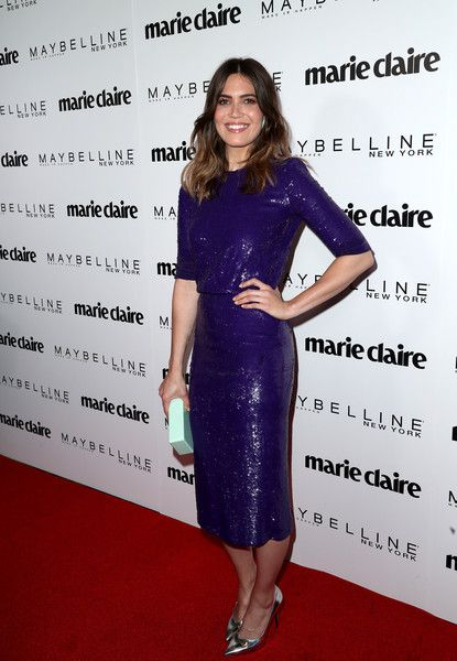 Actress Mandy Moore attends Marie Claire's 'Fresh Faces' celebration with an event sponsored by Maybelline at Doheny Room on April 21, 2017 in West Hollywood, California.