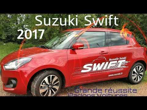 passion voiture hybride: Essai Suzuki swift 2017 un restylage jeune et spor...