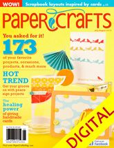 Paper Crafts July/August 2010 Digital Issue: Magazine Issues, Papercraft Magazines, Magazines Issues, Crafts Magazines