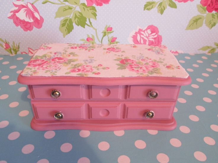 Shabby stylish jewelry field, cath kidston - nice present - Refurbished - Up cycled b....  Figure out more at the photo link