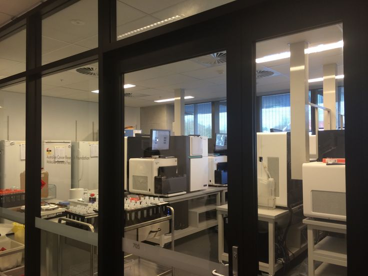 Touring the Epigenomics Lab - 12 genome coding machines collectively $12 million