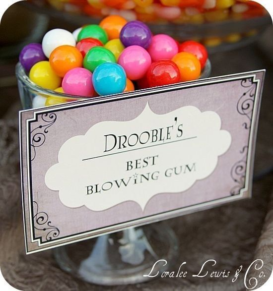 Re-label Muggle candy.   33 Cheap And Easy Ways To Throw An Epic Harry Potter Halloween Party