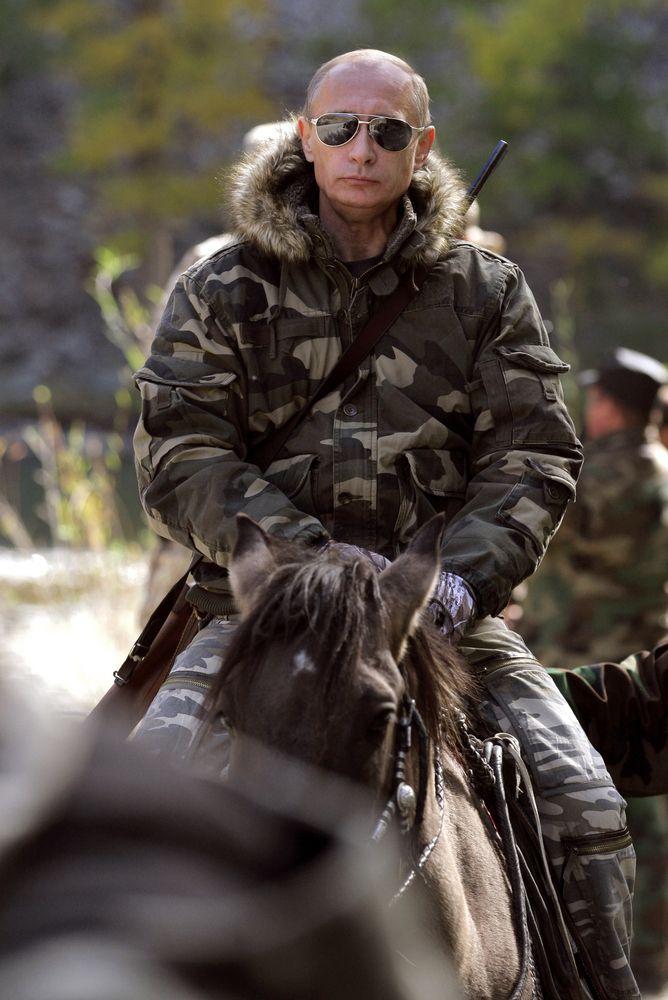 Is  Vladimir Putin the ultimate man?