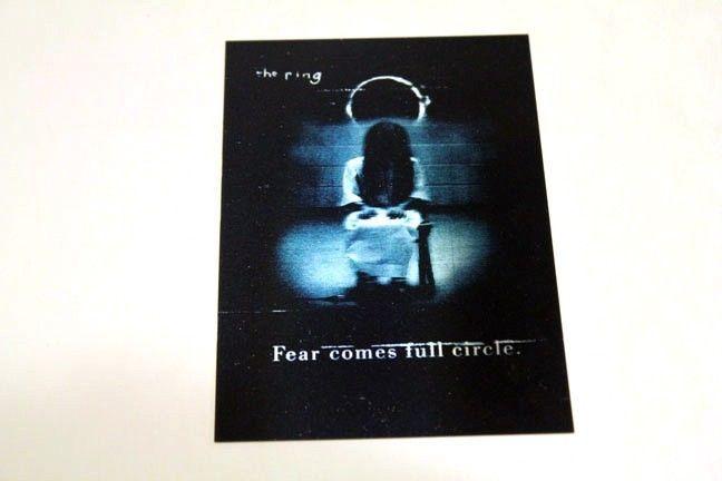 THE RING 2 Two Promo 3D Lenticular Postcard Hideo Nakata Samara