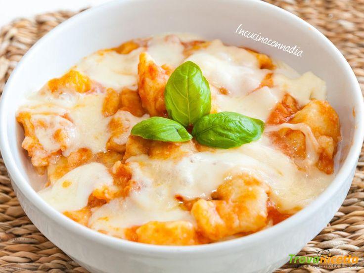 Gnocchi con mozzarella e scamorza affumicata  #ricette #food #recipes