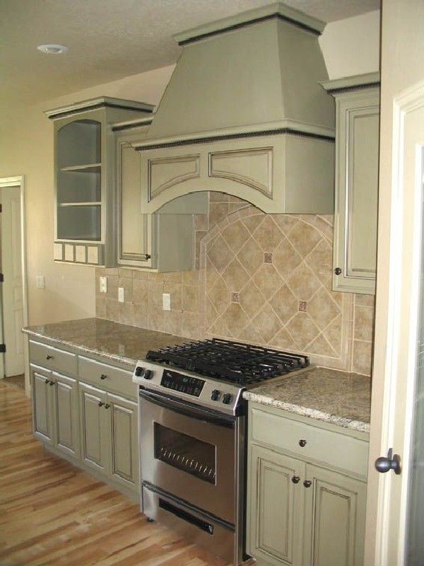 50+ Most Awesome Sage Kitchen Cabinet Design Ideas   Green ...