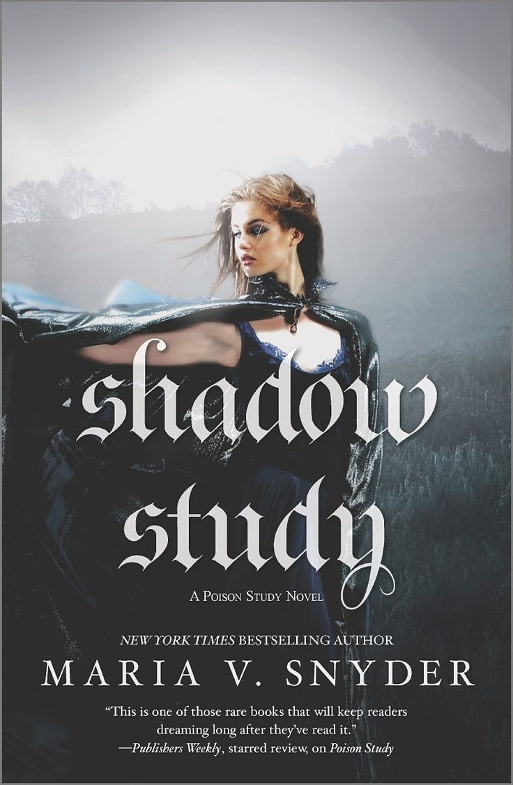 Shadow Study (soulfinders, Book 5) By Maria V Snyder  Mira