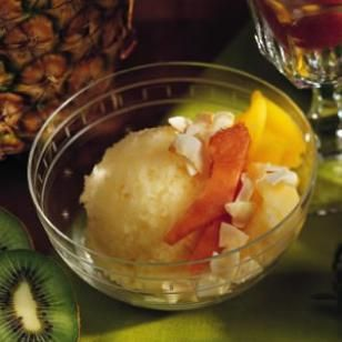 Tropical Fruit Ice, From EatingWell:  Summer 2002