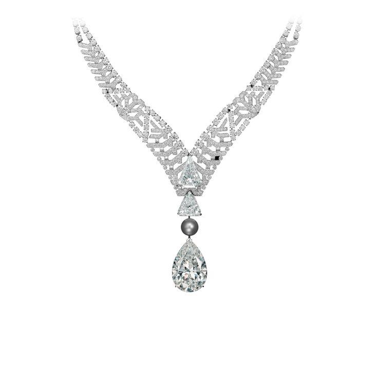 Collier haute joaillerie collier pur absolu platine un for Haute joaillerie cartier