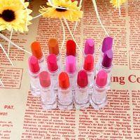 3ce hermoso lápiz labial opaco leche rojo naranja rosa púrpura 2606 muestras pequeñas de color rosa de ocultación