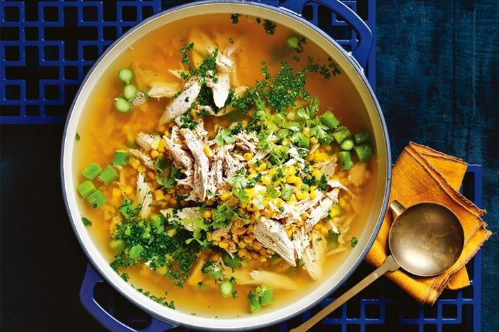 Broths and stocks are the bases for autumn soups from Matt Moran, who counters the chill in the air with recipes geared for nourishment, from his best chicken soup to a bone broth winner.