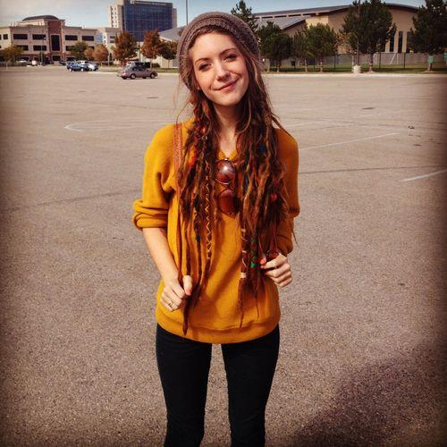 white girl dreadlock hairstyles | Garotas Dreadlocks (Parte 04)