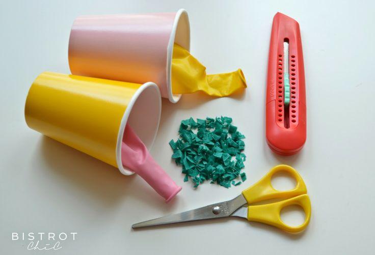 Confetti launcher by BistrotChic a fun DIY