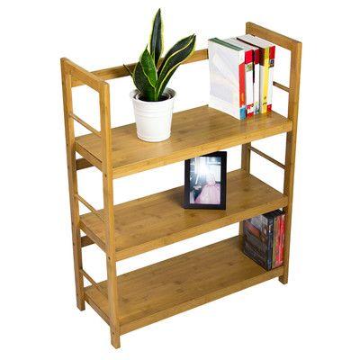 "Corner II LTD Storage Bamboo Shelf 31.5"" Accent Shelves & Reviews   Wayfair"