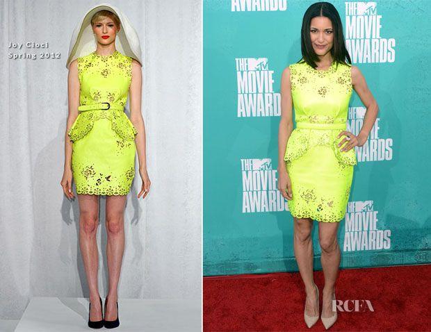 Julia Jones In Joy Cioci - 2012 MTV Movie Awards