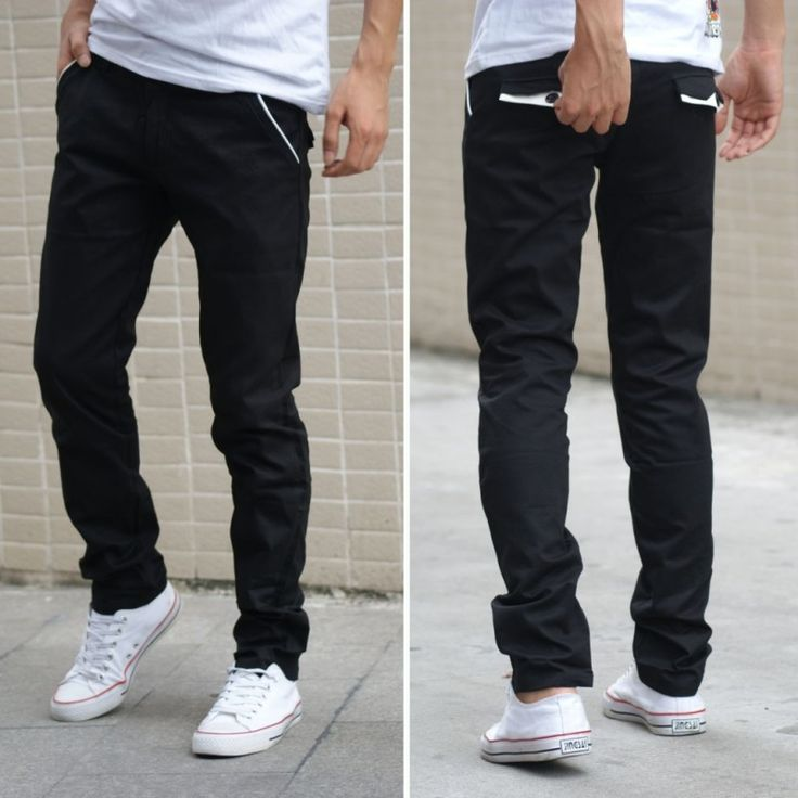Cool Black Skinny Jeans Men1
