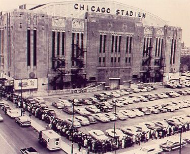The OLD Chicago Stadium. The best place to see a Bull's game.  The intensity was amazing.
