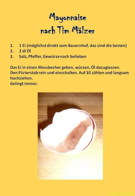 Gartenkraut: Mayonnaise nach Tim Mälzer