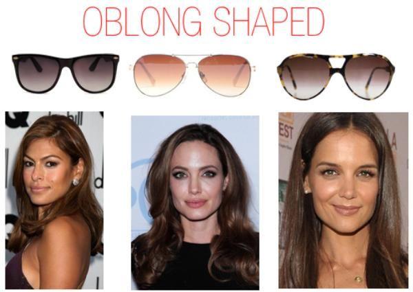 eyeglasses for small oblong face | Best Women Sunglasses Guide for Face Shape