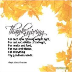 short thanksgiving prayer - Google Search
