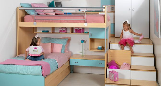 fabuloso cuarto de ni as dise os kia 39 s pinterest more room kids rooms and bedrooms ideas. Black Bedroom Furniture Sets. Home Design Ideas