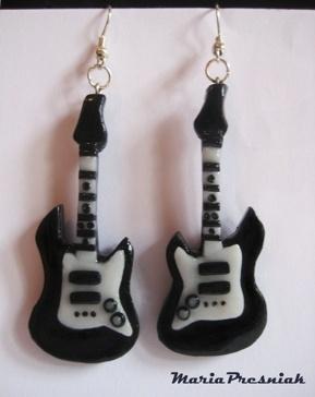 fimo guitar