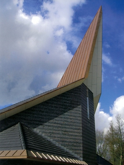 Exceptional De Rank   Nieuwegein · Sacred ArchitectureChurch ArchitectureModern  ChurchChurch DesignChurchesDutchTower Idea