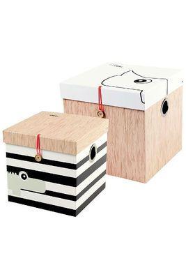 Aufbewahrungsboxen Pappe 2teilig